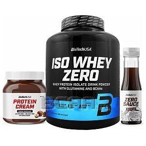 BioTech USA Iso Whey Zero + Protein Cream + Zero Sauce 2270g+400g+350ml 1/1