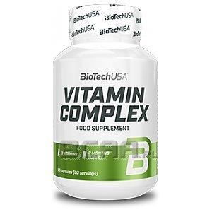 BioTech USA Vitamin Complex 60kaps. 1/1