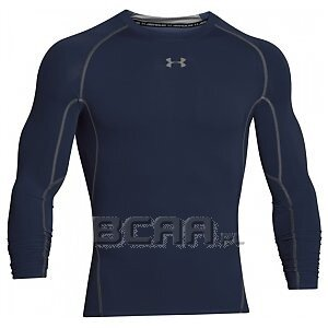 Under Armour Rashguard Męski Heatgear Armour Compression Longsleeve 1257471-410 granatowy 1/3