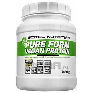 Scitec Pure Form Vegan Protein 450g 1/2