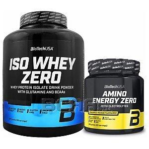 BioTech USA Iso Whey Zero + Amino Energy Zero 2270g+360g 1/1