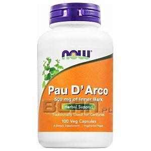 Now Foods Pau D'Arco 100kaps. [promocja] 1/2