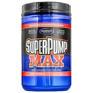 Gaspari Nutrition Super Pump Max 640g 1/1