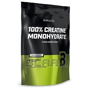 BioTech USA 100% Creatine Monohydrate 500g [folia] 1/1