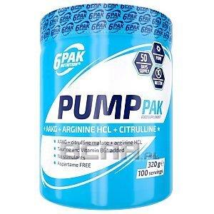 6Pak Nutrition Pump Pak 320g 1/1