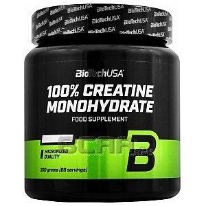 BioTech USA 100% Creatine Monohydrate 300g [słoik] 1/1