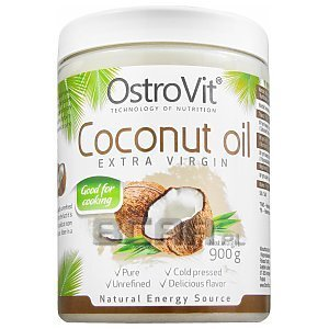 OstroVit Coconut Oil Extra Virgin nierafinowany 900g 1/1
