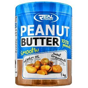 Real Pharm Peanut Butter Smooth 1000g 1/1