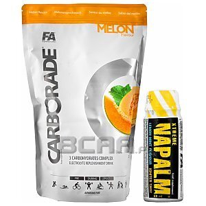 Fitness Authority Carborade + Napalm Shot Gratis! 1000g + 60ml 1/1