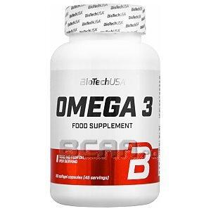BioTech USA Omega 3 90kaps. [promocja] 1/3