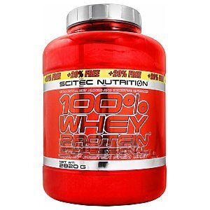 Scitec 100% Whey Protein Professional 2820g [20% GRATIS] 1/2