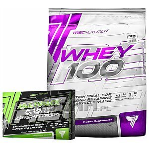 Trec Whey 100 + Multipack Sport Day/Night Formula 2000g + 60kaps [promocja] 1/3