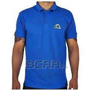 Manto Polo Logo Niebieskie S 1/1