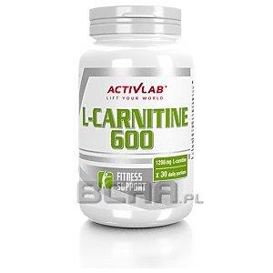 Activlab L-Carnitine 600 60kaps. [promocja] 1/1