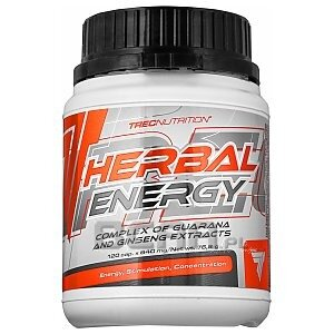 Trec Herbal Energy 120kaps. 1/1