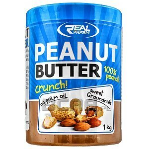 Real Pharm Peanut Butter Crunchy 1000g 1/1