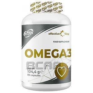 6Pak Nutrition Effective Line Omega 3 90kaps. 1/1