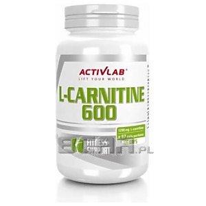 Activlab L-Carnitine 600 135kaps. [promocja] 1/1