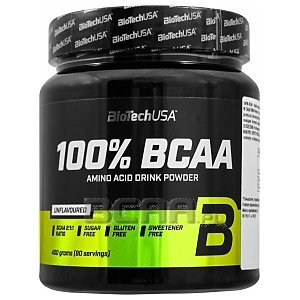 BioTech USA 100% BCAA Powder 400g 1/1
