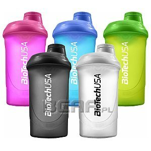 BioTech USA Shaker Wave 600ml 1/2