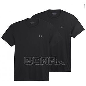 Under Armour 2-Pack HeatGear Crew T-Shirt czarny 1/6