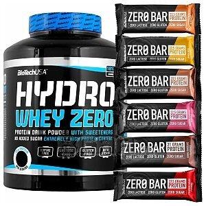 BioTech USA Hydro Whey Zero + 10x Zero Bar 1816g + 10x50g 1/1