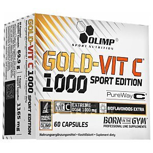 Olimp Gold-Vit C 1000 Sport Edition 60kaps. 1/3