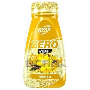 6Pak Nutrition Syrup Zero 500ml 1/1