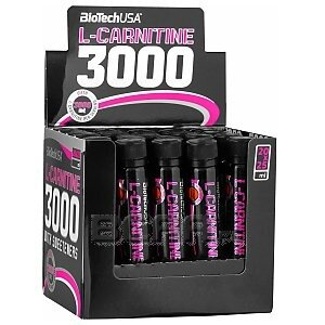 BioTech USA L-Carnitine 3000 20 x 25ml 1/2