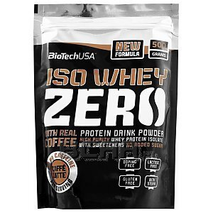 BioTech USA Iso Whey Zero with Real Coffee 500g [promocja] 1/2