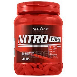 Activlab Nitro Caps 240kaps. 1/2