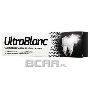 UltraBlanc Wybielająca czarna pasta do zębów z węglem 75ml 1/1