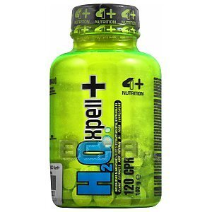 4+ Nutrition H2O Xpell+ 120kaps. 1/2
