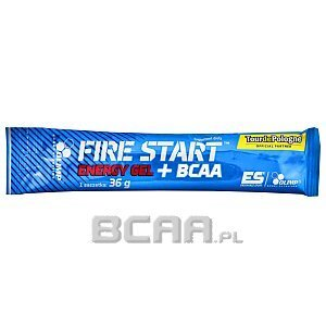 Olimp Fire Start Energy Gel + BCAA Limited Edition 36g 1/3