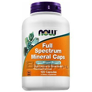 Now Foods Full Spectrum Minerals 120kaps. [promocja] 1/2