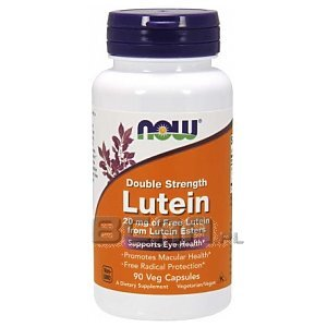 Now Foods Lutein 20mg 90vkaps. 1/1