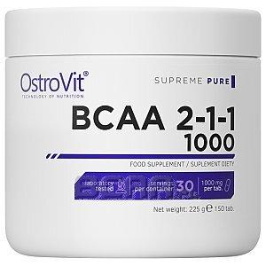 OstroVit Supreme Pure BCAA 2:1:1 1000 150tab. 1/1