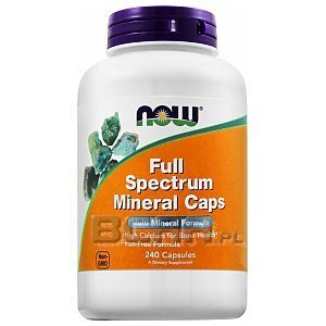 Now Foods Full Spectrum Minerals 240kaps. 1/2