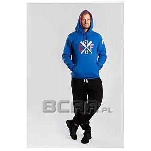 Trec Wear Bluza Hoodie 004 Cross - Blue 1/3