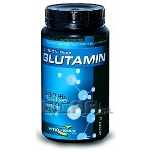 Vitalmax L-Glutamine 100% Base 400g 1/1