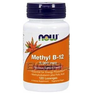 Now Foods Methyl B-12 5000mcg 120kaps. 1/1
