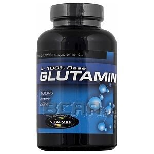 Vitalmax L-Glutamine 100% Base 200g 1/1