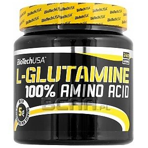 BioTech USA 100% L-Glutamine 240g 1/1