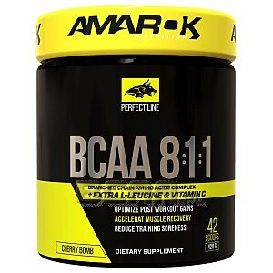 Amarok Nutrition Perfect BCAA 8:1:1 420g 1/2