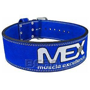 Mex Pas L-Belt skórzany blue  1/1