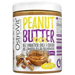OstroVit 100% Peanut Butter Smooth 1000g 1/1