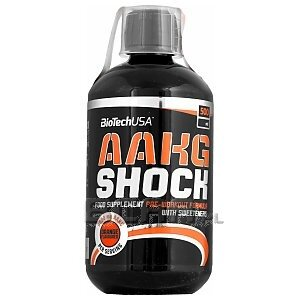 BioTech USA AAKG Shock 500ml 1/1