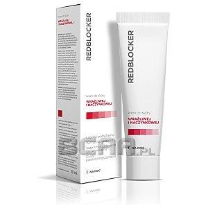 RedBlocker Krem do skóry wrażliwej i naczynkowej na noc 50ml 1/1