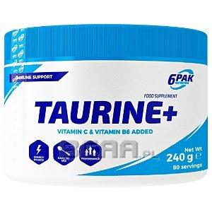 6Pak Nutrition Taurine+ 240g 1/1