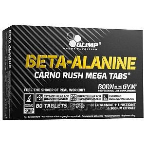 Olimp Beta Alanine Carno Rush 80tab. 1/1